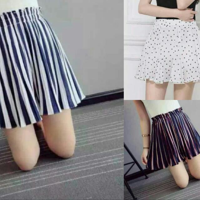 Skorts (Shorts That Looks Like A Skirt)