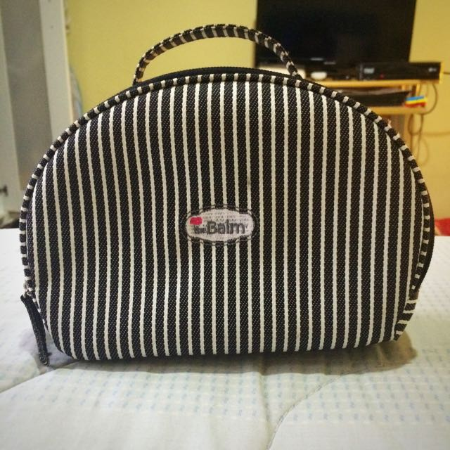 The Balm Cosmetic Pouch Stripe