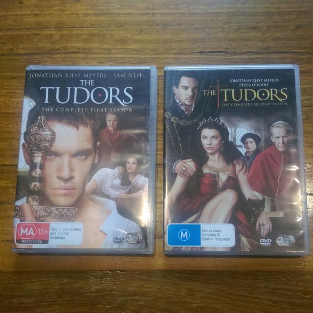 Tudors Dvds