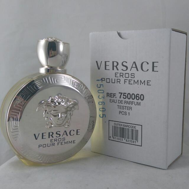 Versace Eros Pour Femme / For Women,  100ml EDP Tester