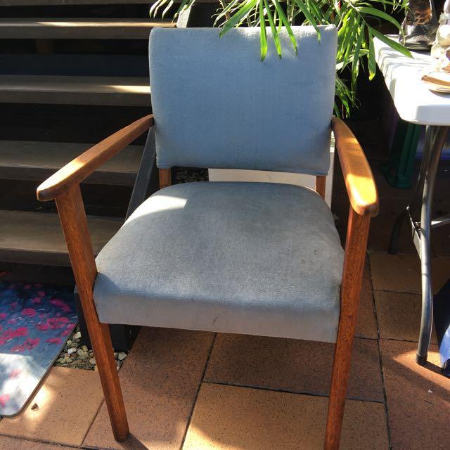 Vintage Bridge Chair