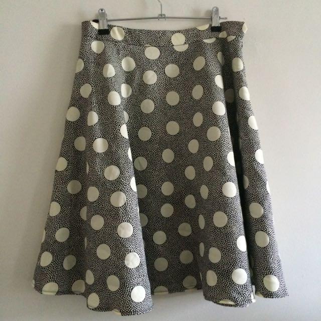 Vintage Circle Skirt Size 10-12