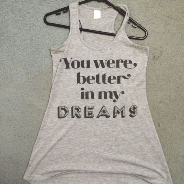 """""""you Were Better In My Dreams"""" Night Gown"""