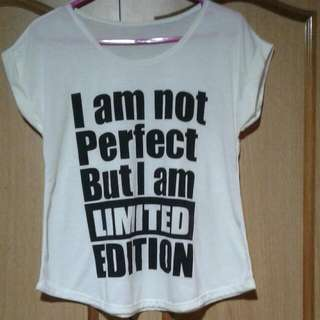 Im Not Perfect Im Limited Edition Shirt