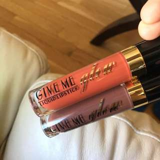 Give Me Glow Liquid Lipsticks