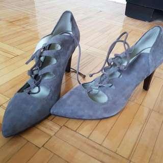 Franco Sarto - Grey Saude Lace Up Heel