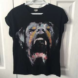 M garage dog tshirt