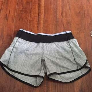 Lulu Lemon shorts. Size 2