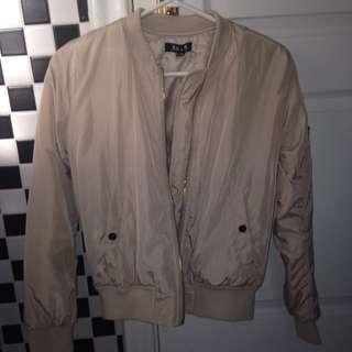 Biege Bomber Jacket