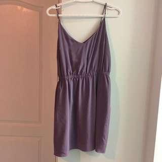 Purple Aritzia Dress