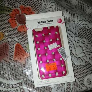 Pink Crosshatch Phone case for iPhone 5