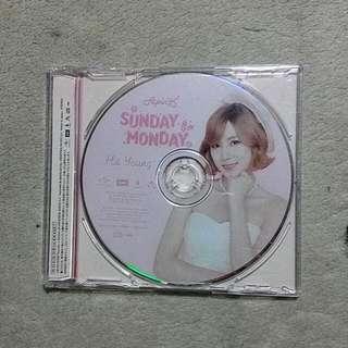 Apink Sunday Monday Japanese Album(Hayoung Cd Plate)