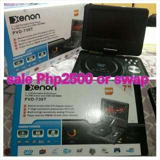 XENON Portable DVD Player