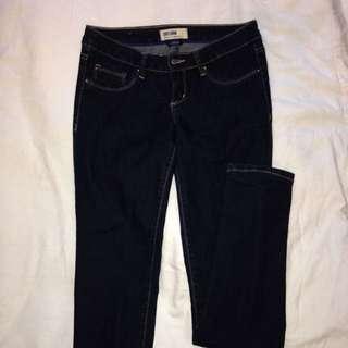 Garage Dark Wash Jeans