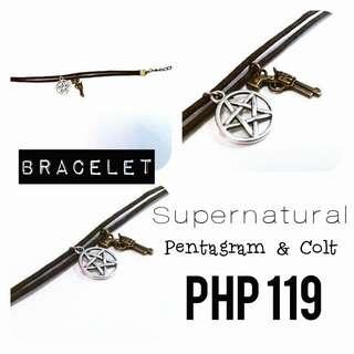 Bracelet   Supernatural: Pentagram & Colt