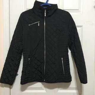 Ellen Tracy Diamond Quilted Jacket
