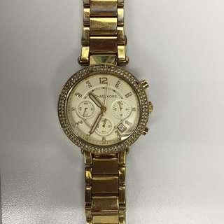Michael Kors Gold Plated Watch
