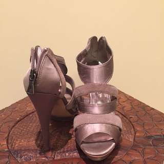 BCBG Grey High Heel Shoes