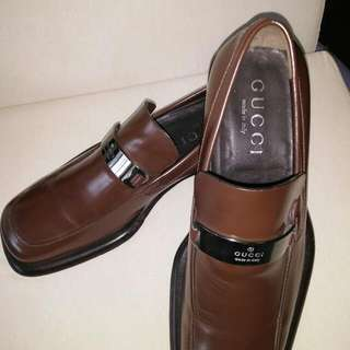 Authentic Gucci Brown Shoes