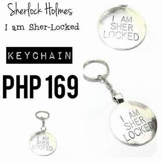 Keychain   Sherlock Holmes: I am Sher-Locked