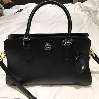 Authentic Tory Burch Black Bag