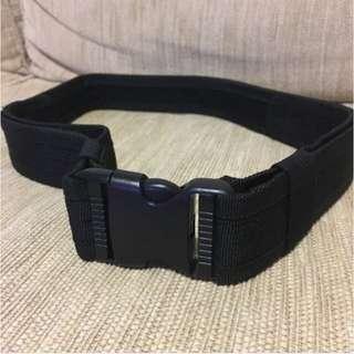 Tactical Buckle & Velcro Belt