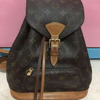 Preloved Authentic LV Mini Monsouris Backpack