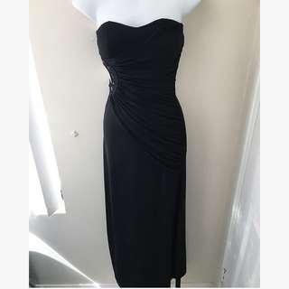 Sleek Black Dress