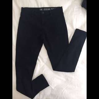 Cotton On Black Mid Rise Jeggings