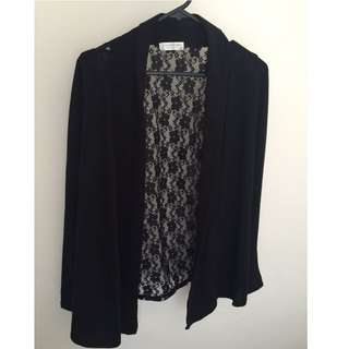 Black lLace Cardigan