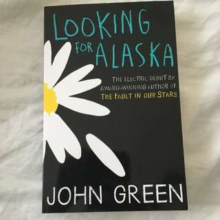 John Green! Looking For Alaska