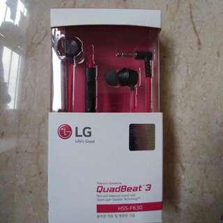 LG quadbeat 3 Authentic
