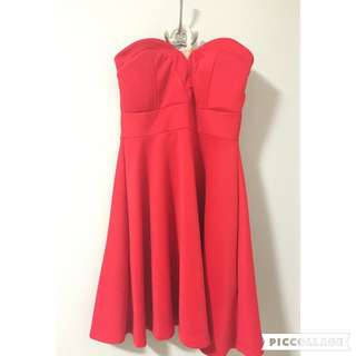 Short Red Dress (S)