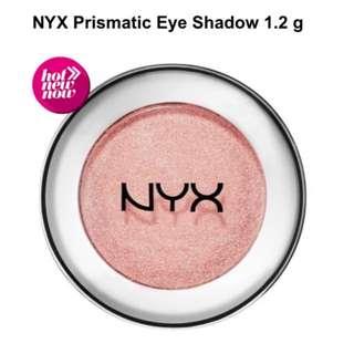 NYX Prismatic Shadows in 'Girl Talk'.