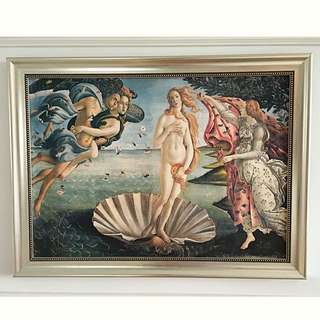 Classic Art High Quality Picture With Frame Birth Of Venue ( Victorian Vatican Church Classical Art Home )