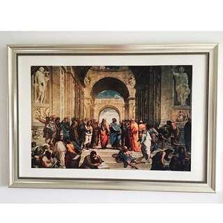 Art Picture High Quality With Frame ( Classic Classical Victorian Vatican Pic Pictures Display )