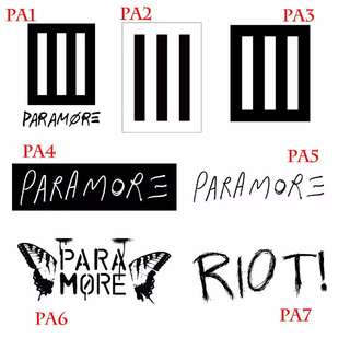 Paramore Stickers
