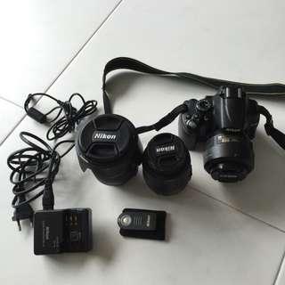 Pre love Nikon camera D5000