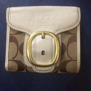 (Reserved) Coach wallet