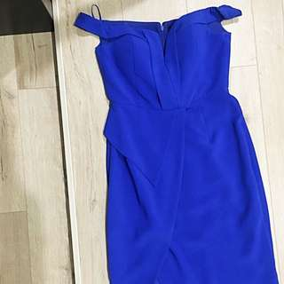 Formal Dress. Royal Blue. Size 12