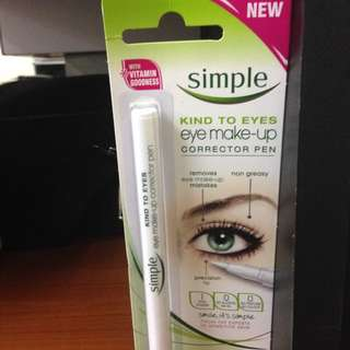 [INSTOCK] Simple Eye Make Up Corrector Pen Kind