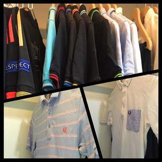 Wardrobe Clearance - Fred Perry Polos