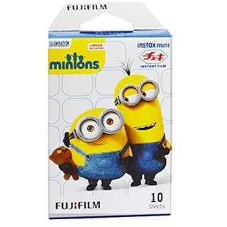 拍立得底片 Fuji film Instax Mini (polaroid) Minions Modern Instant Film