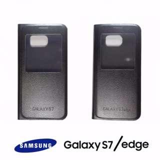 Samsung Galaxy s7/s7 EDGE Leather Flip Wallet Case