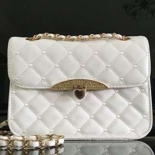 Brand New White Sling Bag