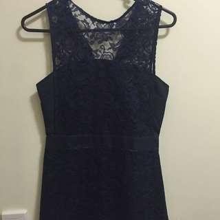 Blue Oriental Dress