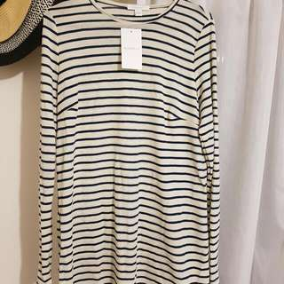 Kookai Stripe Paris Top