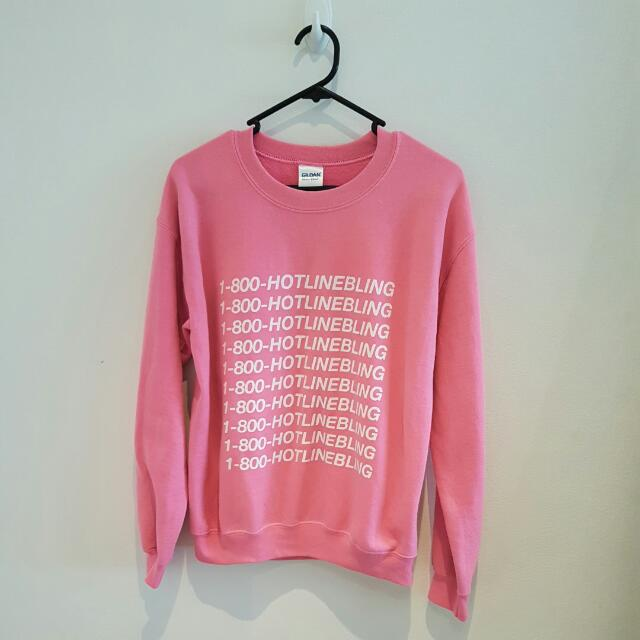 1-800-HOTLINEBLING Sweater - Small