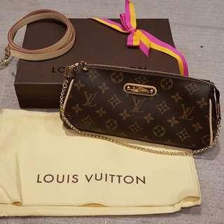 Authentic Louis Vuitton Eva Clutch - new condition with RECEIPT