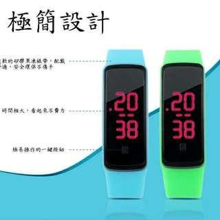 極簡電子果凍錶